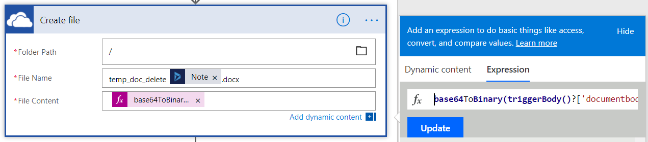 Generate Quote PDF attachments in Dynamics through Flow