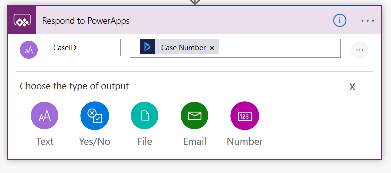 Using PowerApps & Flow to return Dynamics data immediately